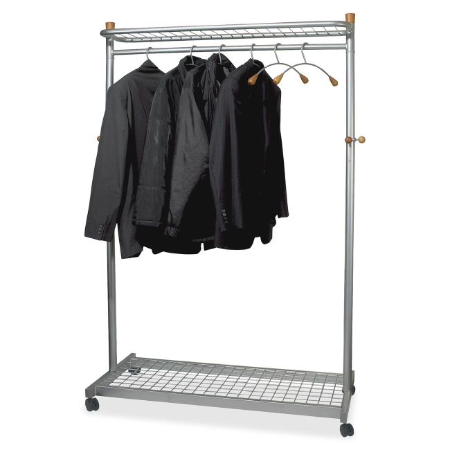 Alba Practical Chrome Coat Rack PMLUX6 ABAPMLUX6 PMLUX