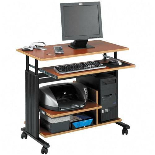 Safco Adjustable Mini-Tower Workstation 1927CY SAF1927CY