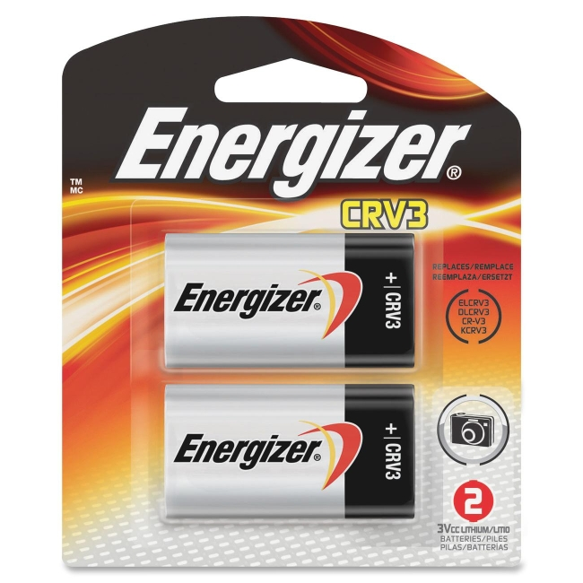 Eveready Lithium Photo Battery ELCRV3BP2 EVEELCRV3BP2
