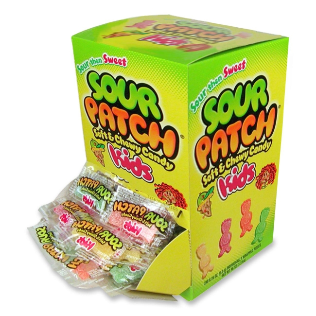 Trident Sour Patch Kids Chewy Candy 4314700 CDB4314700