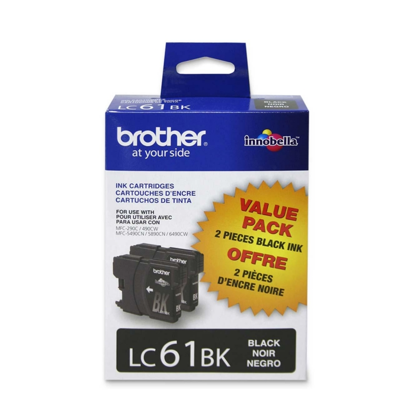 Brother Black Ink Cartridge LC612PKS BRTLC612PKS