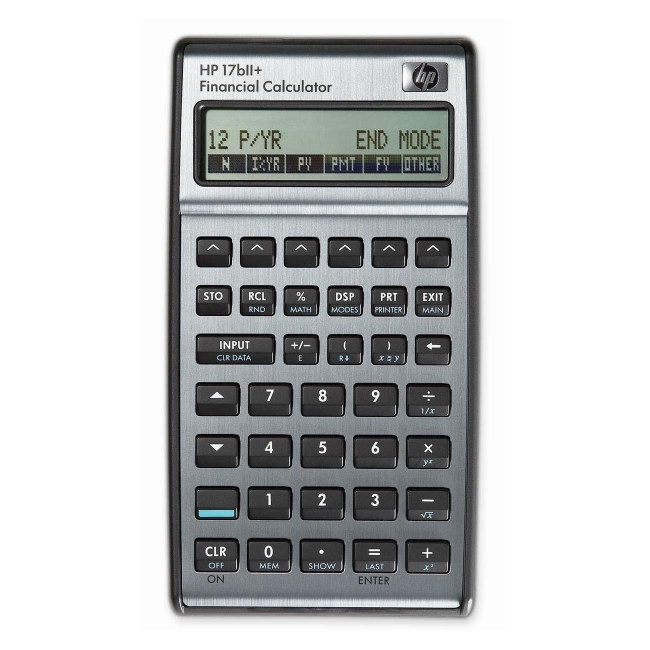 HP Financial Calculator 17BIIPLUS HEW17BIIPLUS