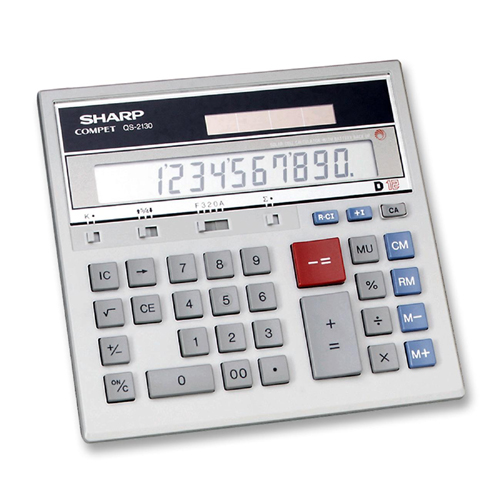 Sharp Simple Calculator QS2130 SHRQS2130