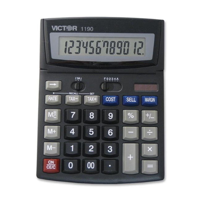 Victor Technology Business Desktop Display Calculator 1190 VCT1190