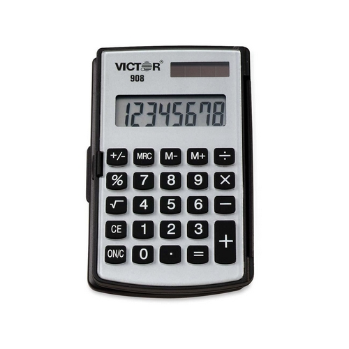 Victor Technology Pocket Calculator 908 VCT908