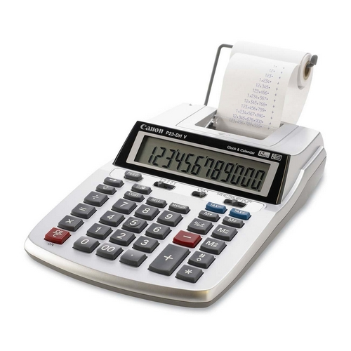 Canon 2-Color Printing/Display Calculator P23DHV CNMP23DHV P23-DHV