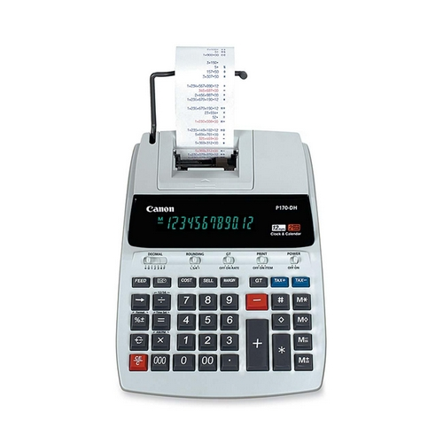Canon 2-Digit Display Calculator with Calendar P170DH CNMP170DH P170-DH