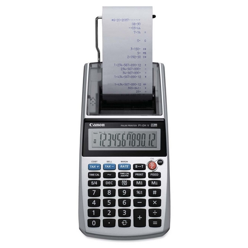 Canon 12-Digit Portable Printer/Display Calculator P1DHV CNMP1DHV P1-DHV