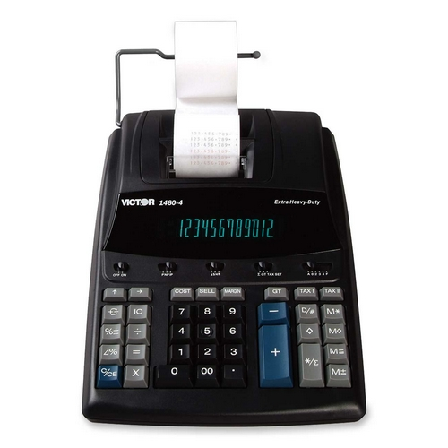 Victor Technology Extra Heavy Duty Printing Calculator 14604 VCT14604