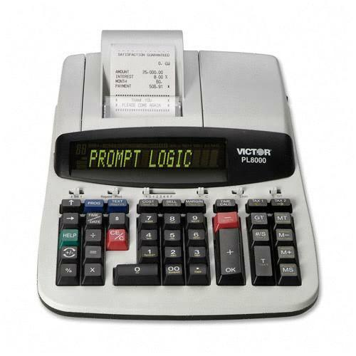 Victor Technology Printing Calculator PL8000 VCTPL8000