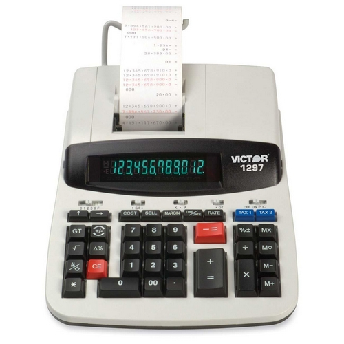 Victor Technology Printing Calculator 1297 VCT1297