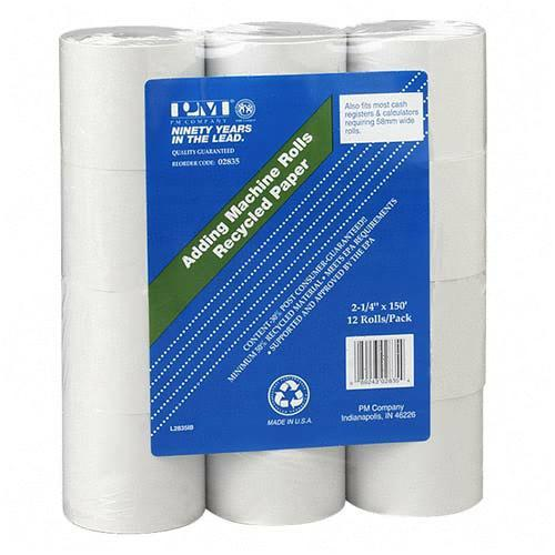PM Perfection Calculator/Receipt Roll 02835 PMC02835