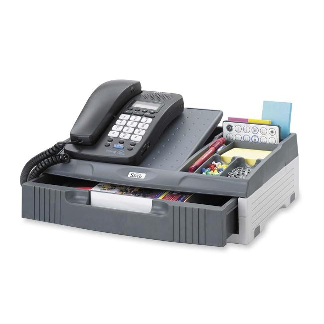 stand organizer safco 2204ch saf2204ch telephone stand organizer