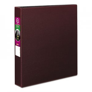 "Avery Durable Binder with Slant Rings, 11 x 8 1/2, 1 1/2"", Burgundy AVE27352 27352"