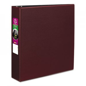 "Avery Durable Binder with Slant Rings, 11 x 8 1/2, 2"", Burgundy AVE27552 27552"