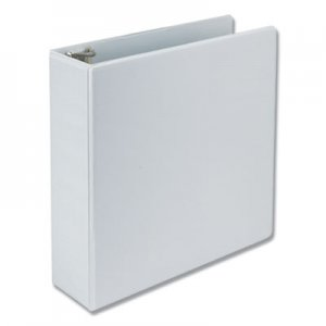 "Samsill Earth's Choice Biobased D-Ring View Binder, 3"" Capacity, White SAM16987 16987"