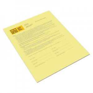 Xerox Revolution Digital Carbonless Paper, 8 1/2 x 11, Canary, 500 Sheets/RM XER3R12437 3R12437