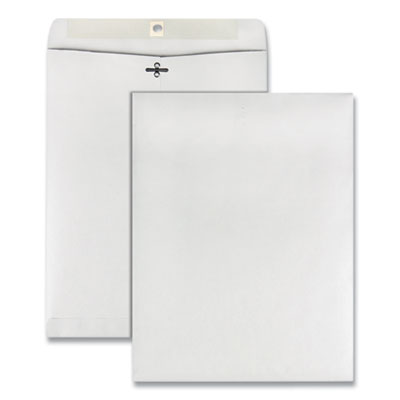 Clasp envelope 10 x 13 28lb white 100 box quality park for 10 x 13 window envelope