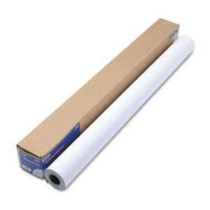 "Epson Enhanced Adhesive Synthetic Paper, 44"" x 100 ft, White EPSS041619 S041619"