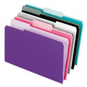 Pendaflex twin pocket poly wallet poly letter blue ice pfx52341 52341 for Pendaflex interior file folders
