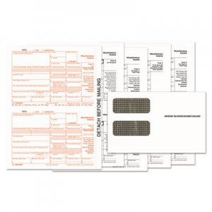 TOPS 1099-MISC Tax Form Kits, 8 x 5 1/2, 5-Part, Inkjet/Laser, 24 1099s & 1 1096 TOP22905KIT