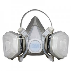 3M Dual Cartridge Respirator Assembly 52P71, Organic Vapor/P95, Medium MMM52P71 52P71