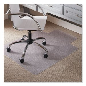 "ES Robbins 36 x 48 Lip Chair Mat, Task Series AnchorBar for Carpet up to 1/4"" ESR120023 120023"