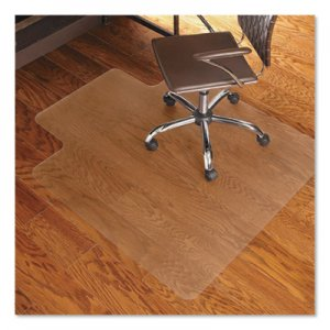 ES Robbins 45x53 Lip Chair Mat, Economy Series for Hard Floors ESR131823 131823