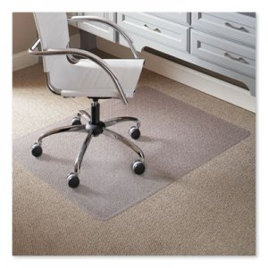 "ES Robbins 46 x 60 Rectangle Chair Mat, Task Series AnchorBar for Carpet up to 1/4"" ESR120321 120321"