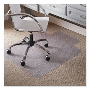 "ES Robbins 45 x 53 Lip Chair Mat, Task Series AnchorBar for Carpet up to 1/4"" ESR120123 120123"