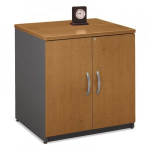 Bush Series C Collection 30W Storage Cabinet, Natural Cherry BSHWC72496A WC72496