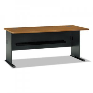 Bush Series A Collection 72W Desk, Natural Cherry BSHWC57472 WC57472