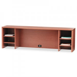 HON 10500 Series Stack-On PC Organizer, 72w x 14-5/8d x 22h, Bourbon Cherry HON105388HH H105388.HH