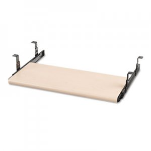 HON Slide-Away Keyboard Platform, Laminate, 21-1/2w x 10d, Natural Maple HON4022D H4022.D