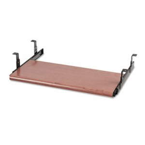 HON Slide-Away Keyboard Platform, Laminate, 21-1/2w x 10d, Bourbon Cherry HON4022H H4022.H