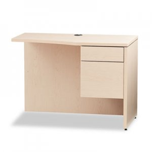 HON 10500 Series Curved Return, Right, 42w x 18-24d x 29 1/2h, Natural Maple HON105817RDD H105817R.DD