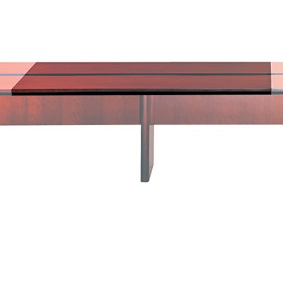 Mayline Corsica Conference Series 6' Adder Modular Table Top, Sierra Cherry MLNCMT72ATCRY CMT72ATCRY