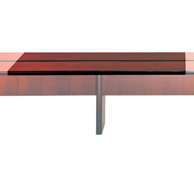 Mayline Corsica Conference Series 6' Adder Modular Table Top, Mahogany MLNCMT72ATMAH CMT72ATMAH