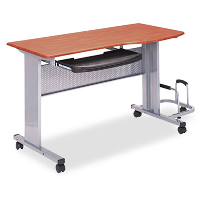 Mayline Eastwinds Mobile Work Table, 57w x 23-1/2d x 29h, Medium Cherry MLN8100TDMEC 8100TDMEC