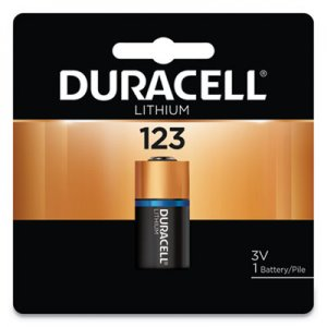 Duracell Ultra High-Power Lithium Battery, 123, 3V, 1/EA DURDL123ABPK DL123ABPK