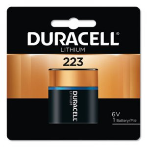 Duracell Ultra High Power Lithium Battery, 223, 6V, 1/EA DURDL223ABPK DL223ABPK