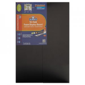 Elmer's CFC-Free Polystyrene Foam Premium Display Board, 24 x 36, Black, 12/Carton EPI902091 902091