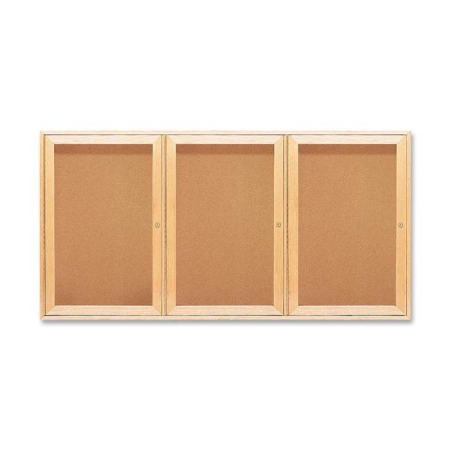 ACCO Oak Frame Bulletin Board 367 QRT367