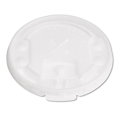 Dart Lift Back & Lock Lids w/Straw Slot, ID Buttons, Translucent,100/PK, 20 Packs/CT SCCLX2SBR LX2SBR-00100
