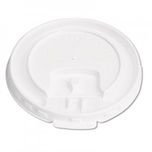 Dart Lift Back & Lock Tab Cup Lids for Foam Cups, For SLOX8J, White, 2000/Carton SCCDLX8R DLX8R