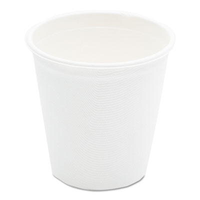 NatureHouse Compostable Sugarcane Bagasse Hot Cups, 12oz, White, 50/Pack SVAL052 NAH-L052