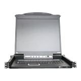 "Aten 17"" Rackmount LCD with KVM Switch CL5708MUKIT"
