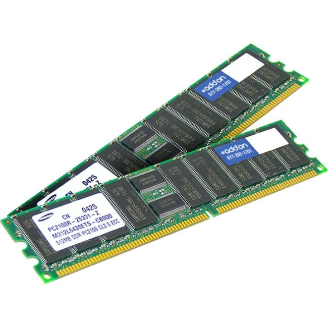 AddOn FACTORY ORIGINAL 4GB DDR3 1333MHz Dual Rank LP Module 500658-B21-AM