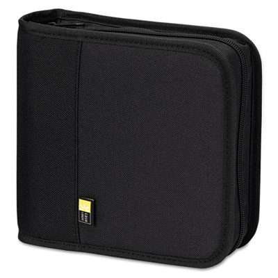 Case Logic CD/DVD Expandable Binder, Holds 24 Disks, Black CLGBNB24 CLGBNB24 BNB-24