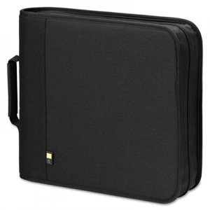 Case Logic CD/DVD Expandable Binder, Holds 208 Disks, Black CLGBNB208 CLGBNB208 BNB-208